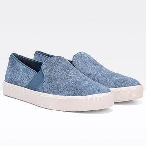 VINCE Blair-12 Embossed Suede Slip-on Sneakers 6